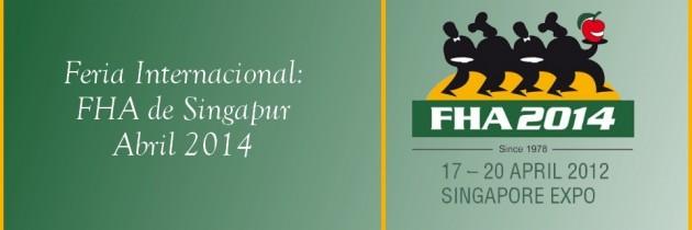 Eventos Internacionales: Feria FHA en Singapour 2014