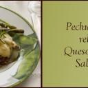 Pechuga de pollo rellena con Queso al Romero y Salsa de Pera